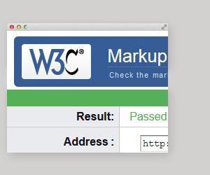 100% HTML5 Valid