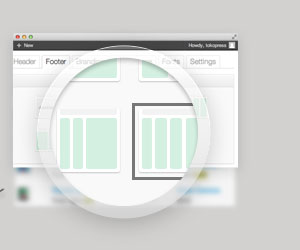 Footer Widget Layout System